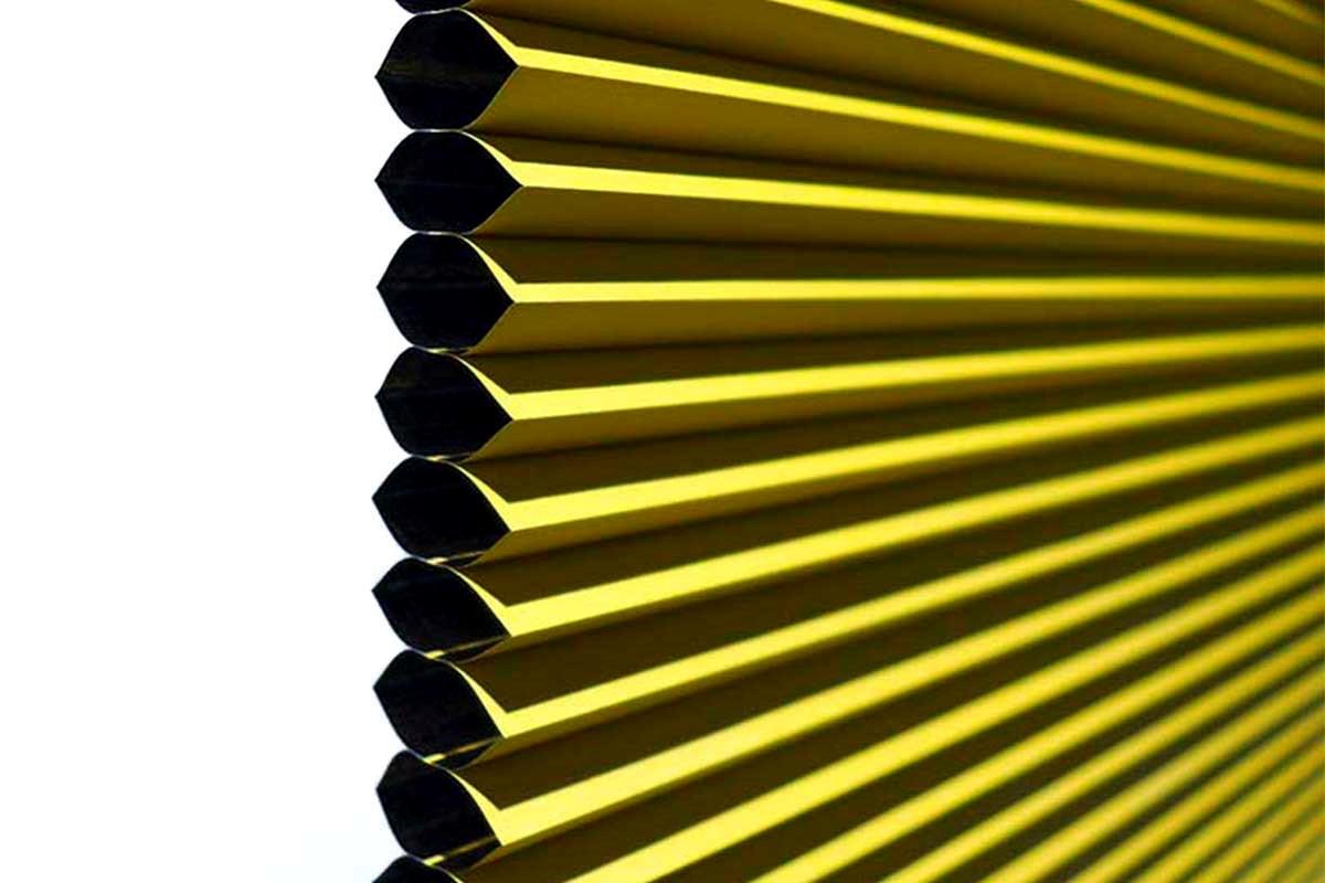Plissegardiner - Stort udvalg af plissegardiner på mål i høj kvalitet